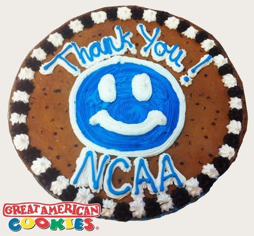 Great American Cookies Applauds NCAA Ruling in Favor of Icing. (PRNewsFoto/Great American Cookies) ...