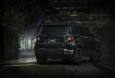 Jeep Renegade Dawn of Justice Special Edition available now in collaboration with Warner Bros. Pictures