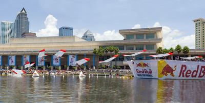 Red Bull Flugtag Tampa Bay Flight Manifesto Complete.  (PRNewsFoto/Red Bull, Chris Tedesco)