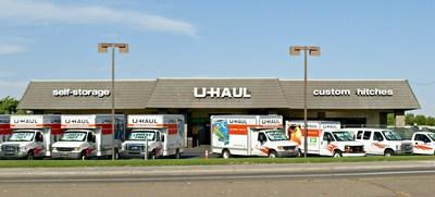 U-Haul Center of Manteca Establishes Business in California. (PRNewsFoto/U-Haul)