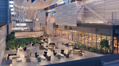 Rendering Of Brickell City Centre Outdoor Restaurant Terrace