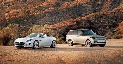 (MAHWAH, NJ) - January 3, 2014 - Jaguar Land Rover North America today reported December 2013 U.S. sales: Jaguar sales were 1,544 units, 47 percent up from 1,049 units in December 2012; Land Rover sales reached 5,764 units, up 11 percent from 5,174 units in December 2012. Jaguar Land Rover North America December U.S. sales for both brands hit 7,308 units, a 17 percent increase from 6,223 units in December 2012. (PRNewsFoto/Jaguar Land Rover North America) (PRNewsFoto/JAGUAR LAND ROVER NORTH AMERICA)