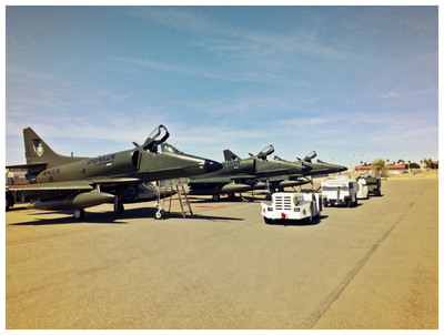 Draken International Provides Close Air Support Training for USMC Joint Terminal Air Controllers (JTAC)