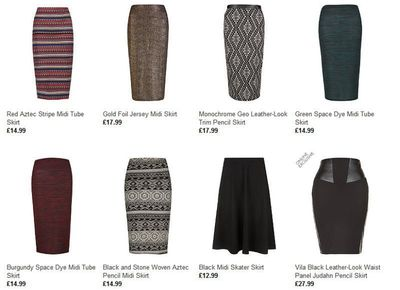 New Look Introduces Incredible Range of Midi Skirts
