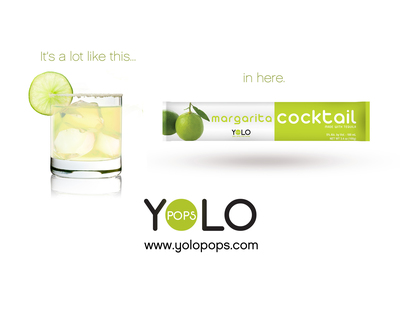 YOLO Pops takes ice pops to the next level with a new line of alcohol ice pops. Exciting flavors include Margarita, Strawberry Daiquiri, Mango Martini, and Blue Tropical. Each YOLO Pops comes in a 100 ml single serving tube designed to be easily frozen and enjoyed. For more information, please visit www.yolopops.com