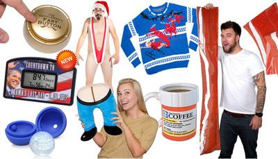 The Top 10 Stupid Gifts of 2013 from Stupid.com.  (PRNewsFoto/Stupid.com)
