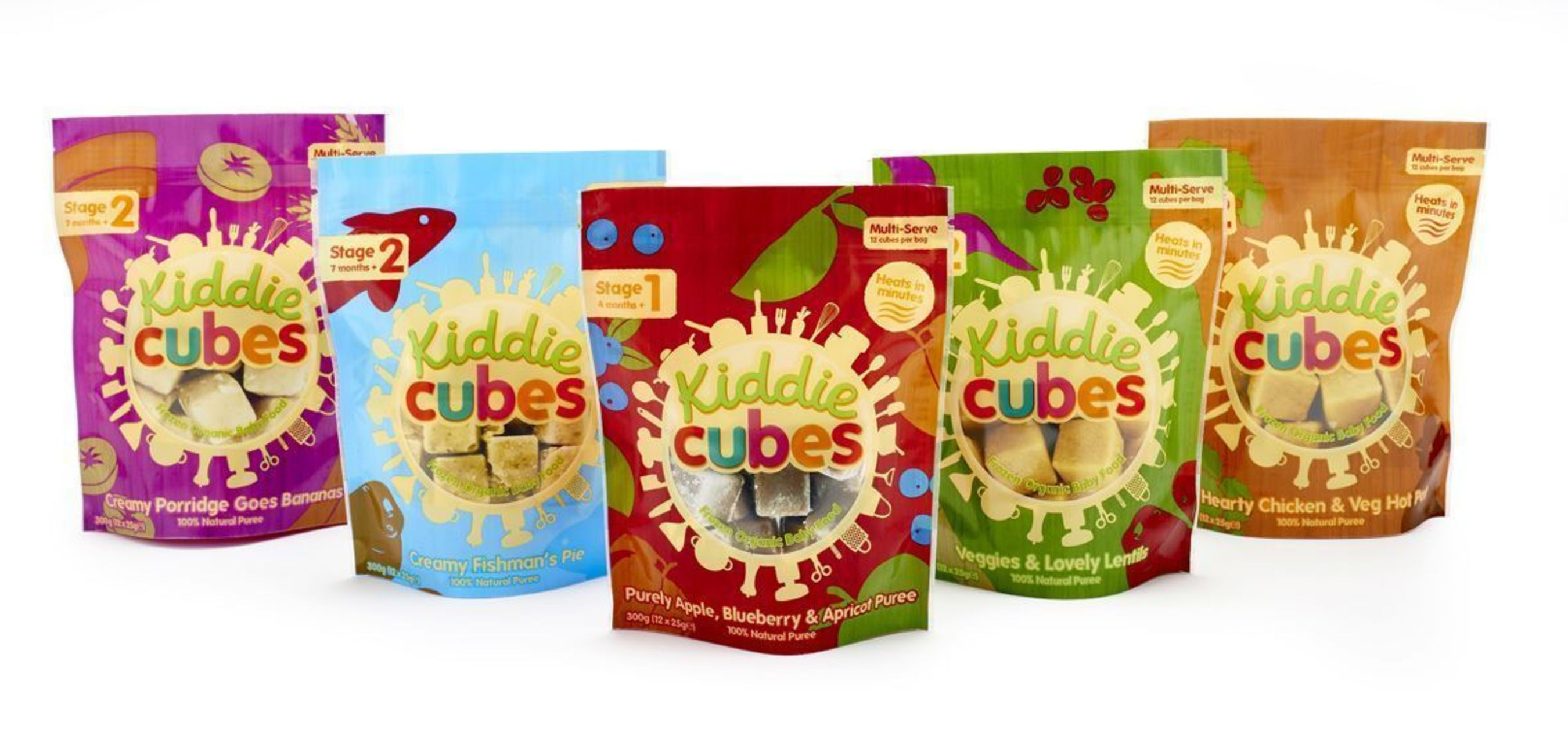 5 of the KiddieCubes range (www.kiddiecubes.com). (PRNewsFoto/KiddieCubes Ltd)