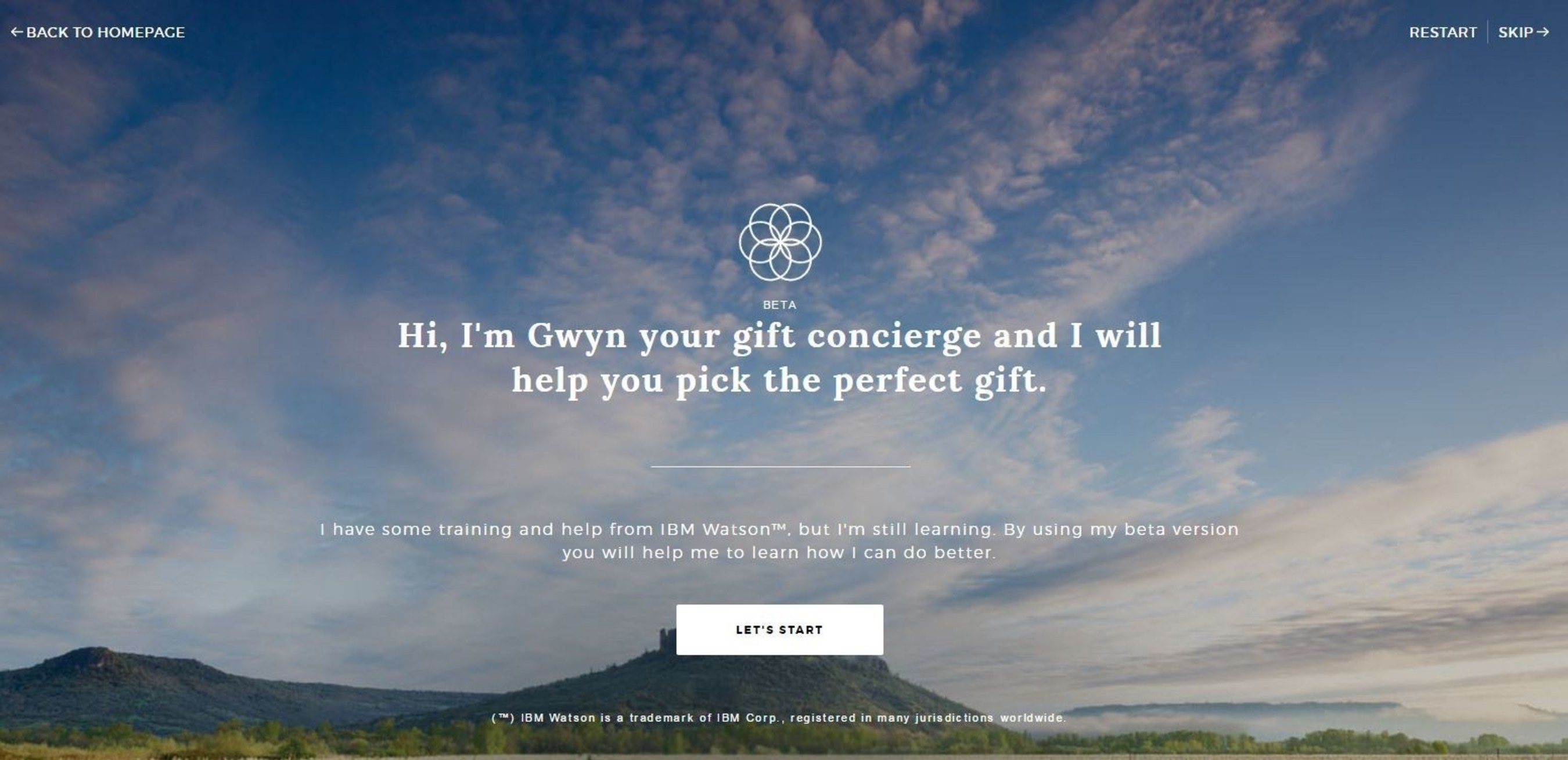 """1-800-FLOWERS.COM Launches Beta of """"GWYN,"""" an Artificial Intelligence Powered Online Shopping Experience"""