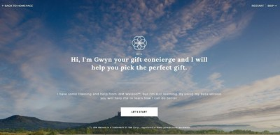"1-800-FLOWERS.COM Launches Beta of ""GWYN,"" an Artificial Intelligence Powered Online Shopping Experience"