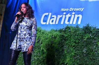 BGCA national ambassador, allergy sufferer and Claritin(R) spokeswoman, Kelly Rowland, performing at the 2015 Spring Kickoff Event.