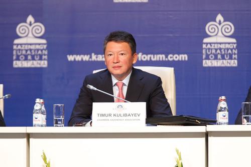 KAZENERGY Association Chairman Timur Kulibayev.  (PRNewsFoto/KAZENERGY)
