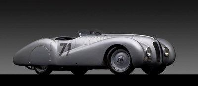 A super-rare 1937 BMW 328 MM Bugelfalte will celebrate BMW's 100th anniversary at the Greenwich Concours International. Photo credit: Michael Furman