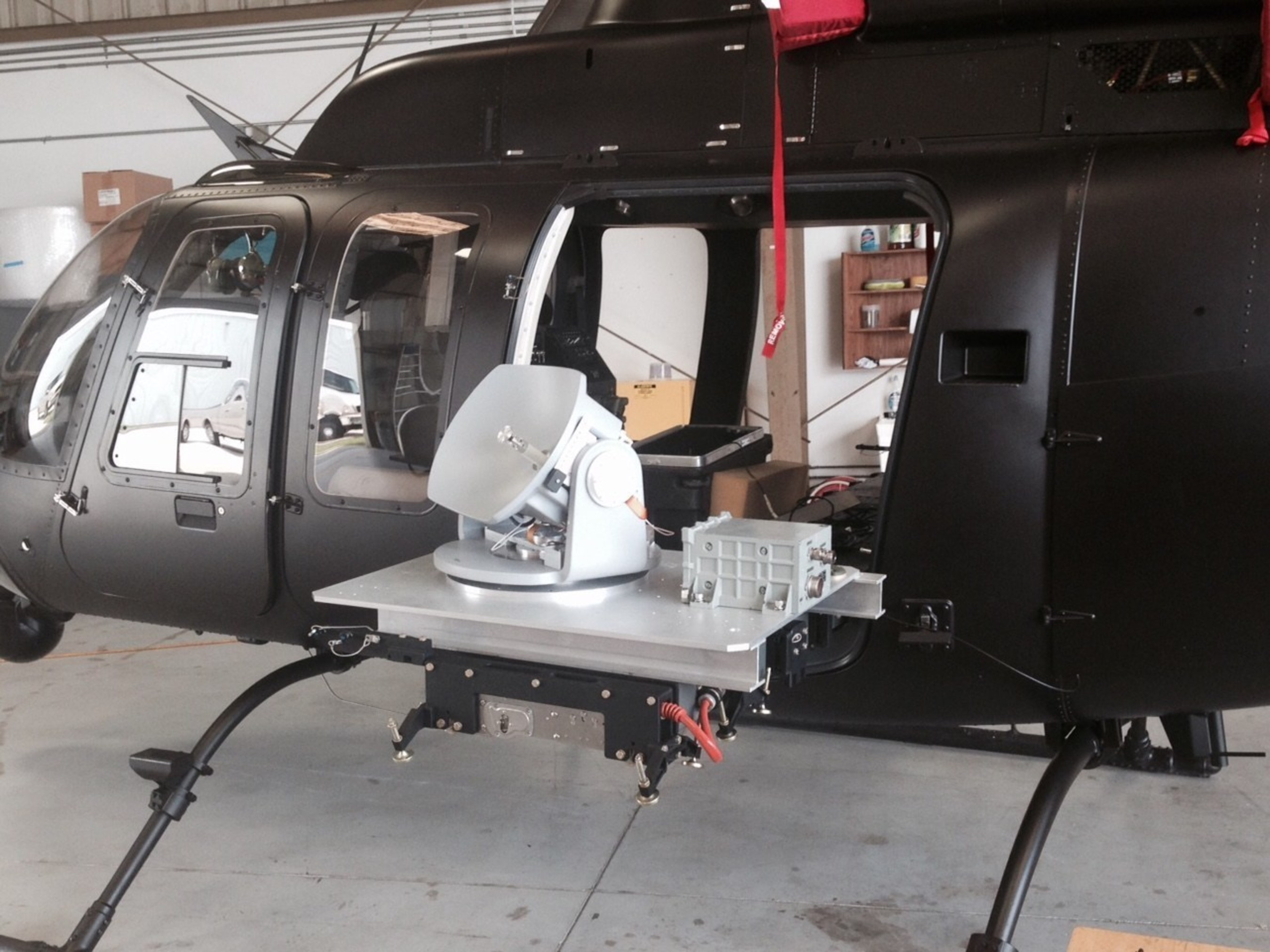 Hughes Demonstrates High Definition Video Over Satellite from Rotary Wing Aircraft