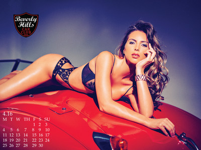 Beverly Hills Car Club 2016 Calendar