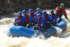 Wounded Warrior Project Alumni brave the waters of the Hudson Valley Gorge during an Alumni program event.