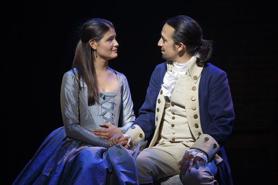 Phillipa Soo and Lin-Manuel MirandaPhoto Credit: Joan Marcus