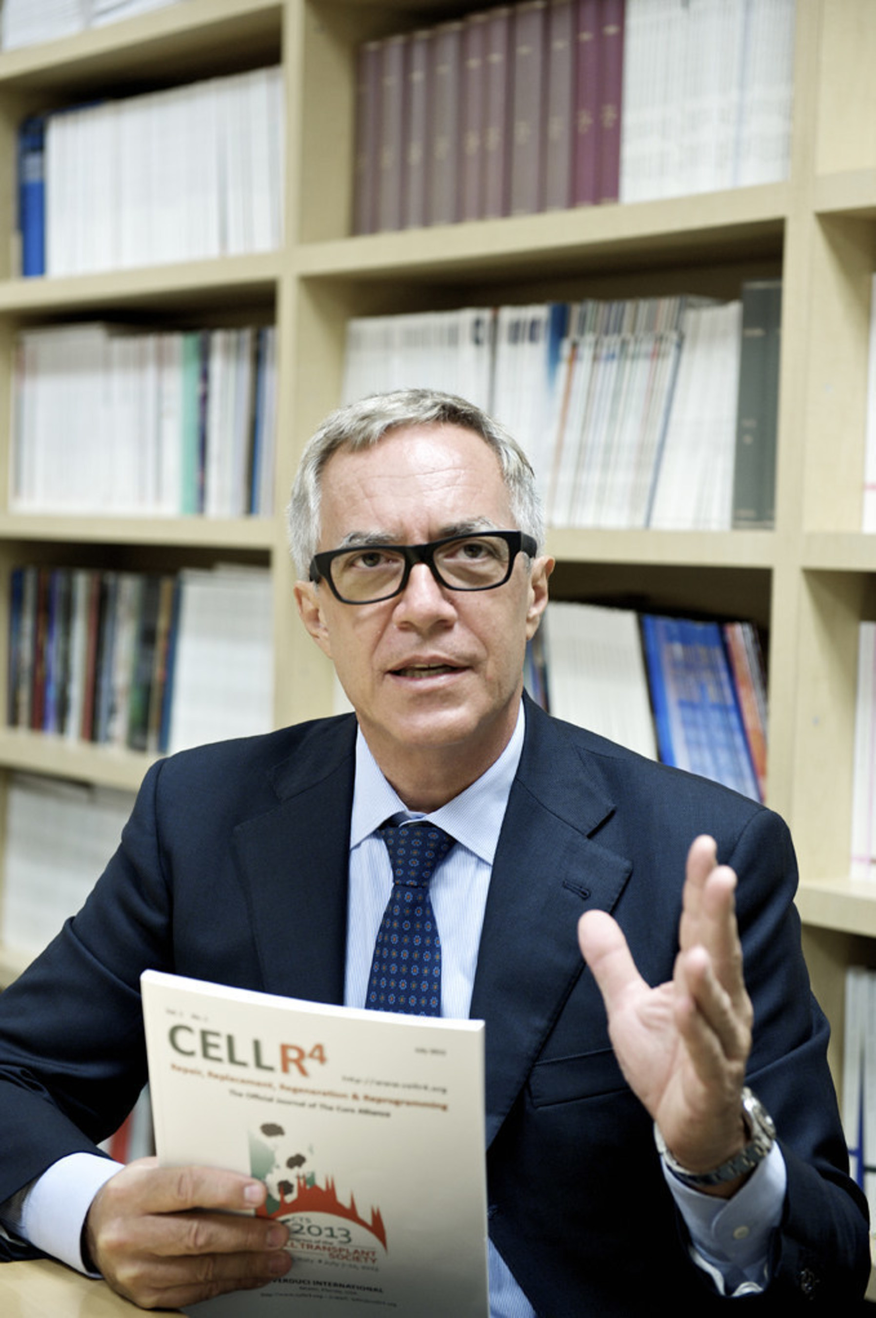 Camillo Ricordi, MD, director of the Diabetes Research Institute