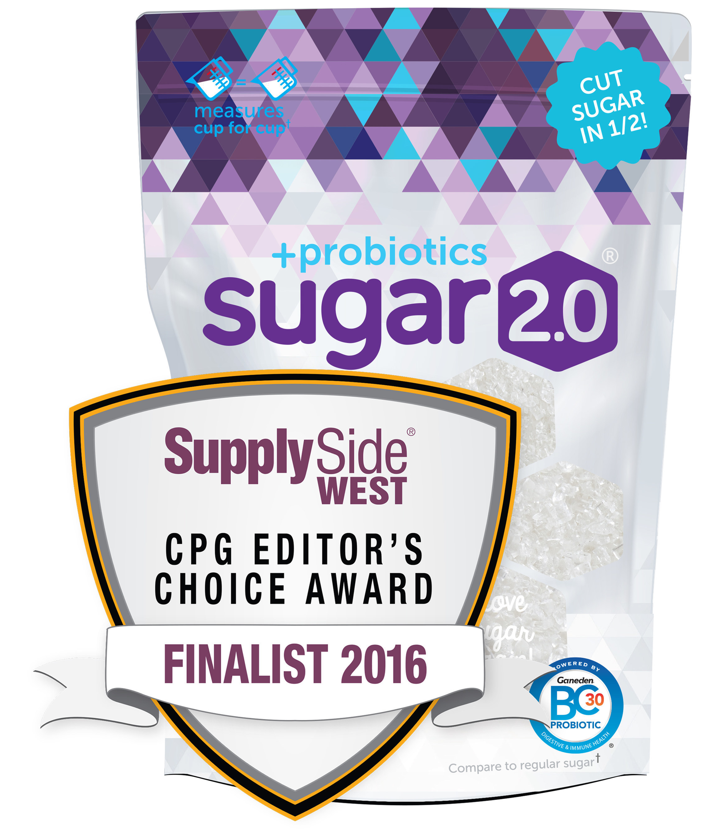 Sugar 2.0 + Probiotics Named Among Top CPG Products for Innovation and Market Impact