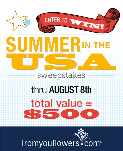 From You Flowers Launches Summer in the USA Sweepstakes (PRNewsFoto/FromYouFlowers.com)