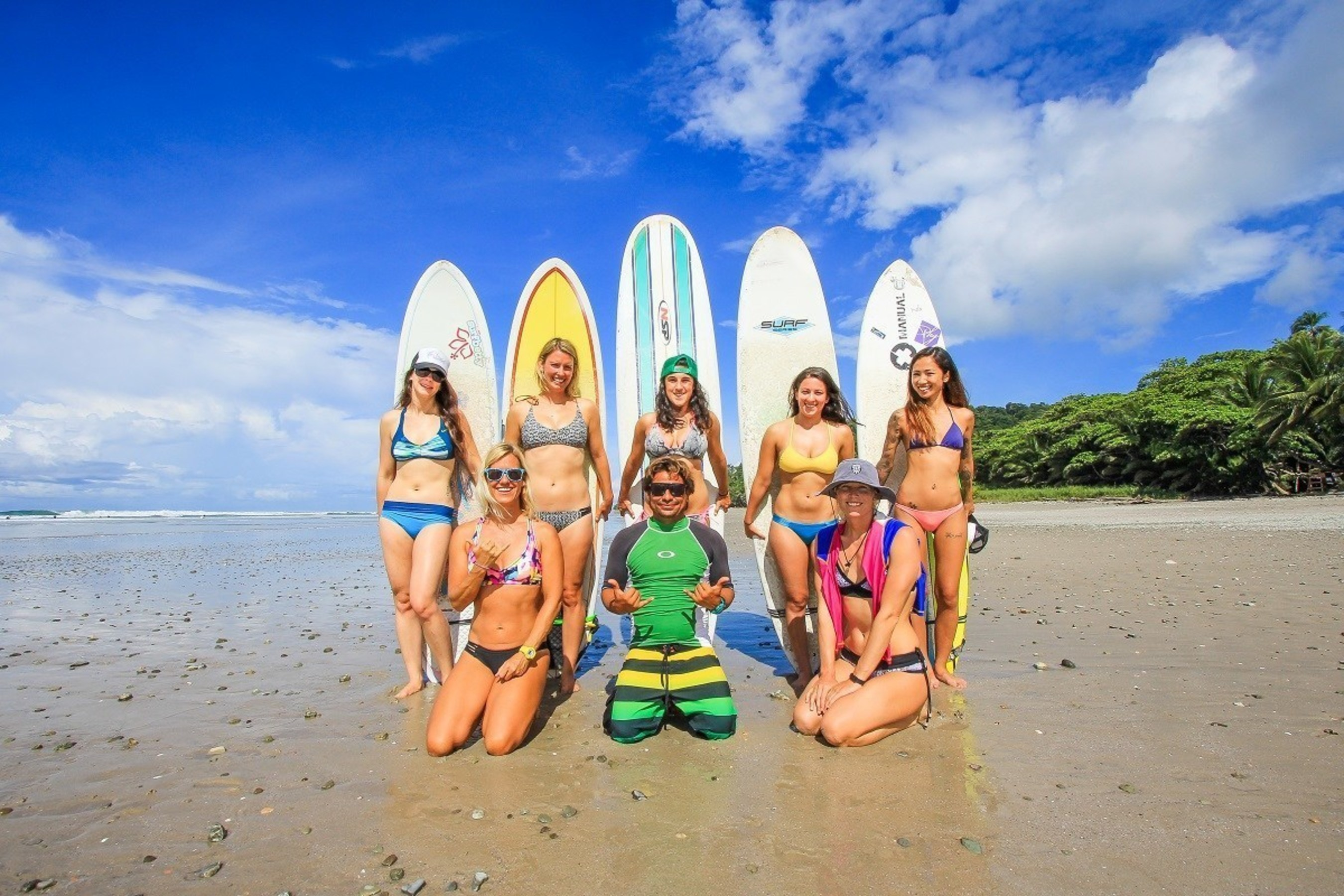Learning to surf and living the dream in this Costa Rican paradise