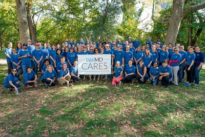 WebMD Cares Impact Day 2016 - WebMD Employees in NYC volunteer at Highbridge Park.