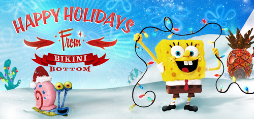 Nickelodeon Debuts First Full-Length Stop-Motion Special, It's A SpongeBob Christmas!, Dec. 9, At 7:30 p.m. (ET/PT).  (PRNewsFoto/Nickelodeon)
