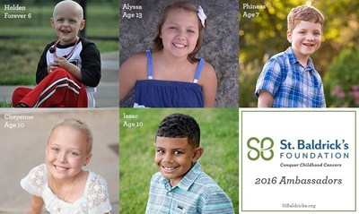 St. Baldrick's Foundation 2016 Ambassadors