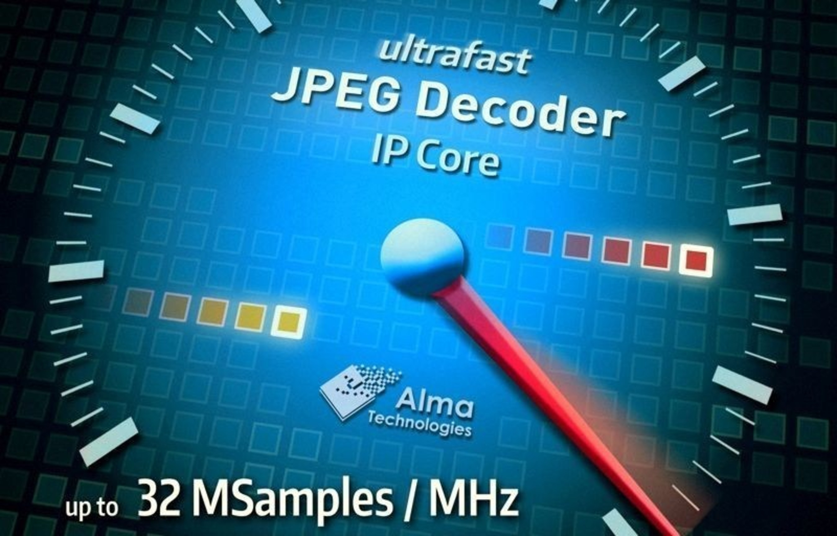 Alma Technologies Announces Availability of a New Ultra High Throughput JPEG Decoder IP Core
