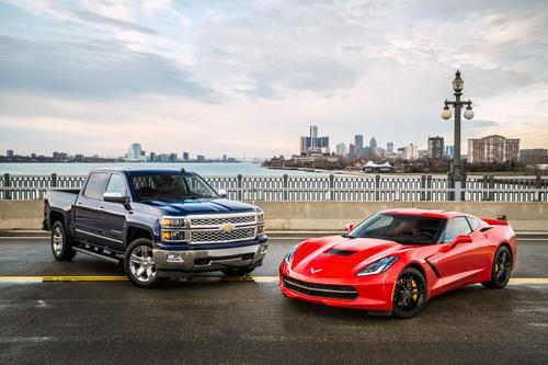 The 2014 Chevrolet Silverado full-size pickup and the 2014 Chevrolet Corvette Stingray are finalists for North ...