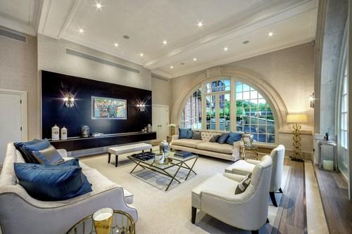 Star & Garter living room (PRNewsFoto/Knight Frank) (PRNewsFoto/Knight Frank)