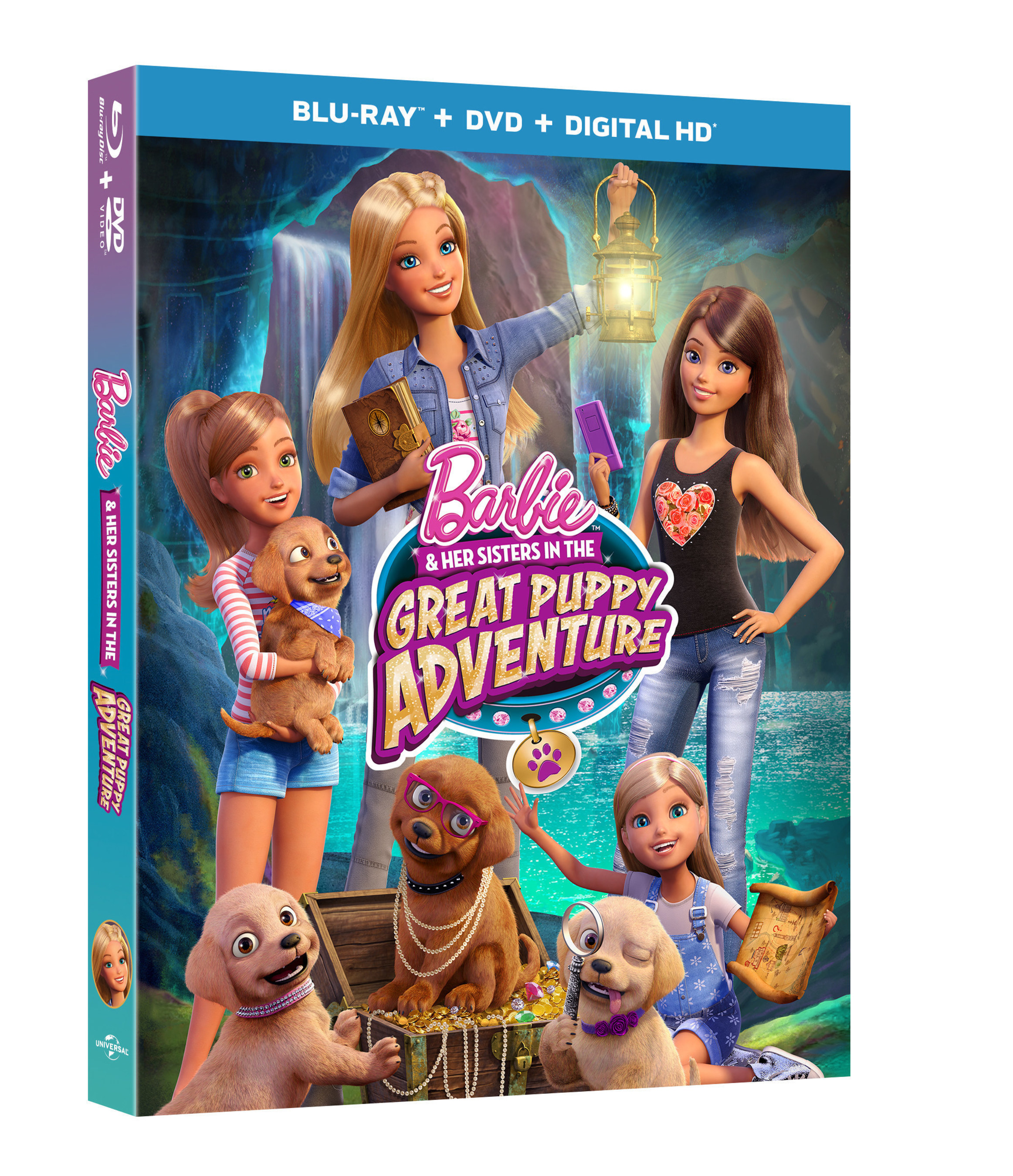 From Universal Pictures Home Entertainment: Barbie & Her Sisters in the Great Puppy Adventure