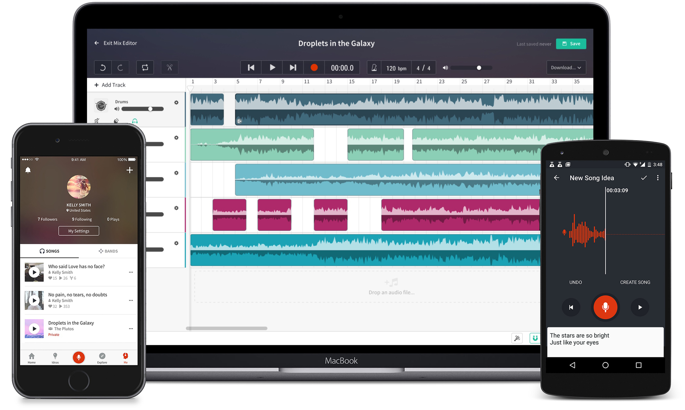 Musicians and Bands Can Capture, Nurture and Collaborate on Song Ideas With New BandLab Cloud