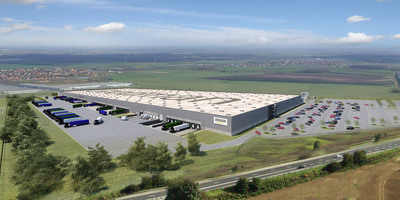 Goodman, the global property group that owns, develops and manages logistics space, will develop a fulfilment centre in Wroclaw for Amazon, the world's largest e-commerce provider. The new development will be the largest free standing logistics facility in Poland, and will be built in record time to meet Amazon's requirements. The transaction represents the biggest contract for a logistics warehouse in central Europe to date.  (PRNewsFoto/Goodman Group)