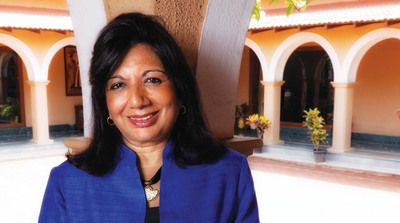Kiran Mazumdar-Shaw, chairman and managing director, Biocon Limited, will receive the 2014 Othmer Gold Medal at the Chemical Heritage Foundation on Thursday, May 15. (PRNewsFoto/Chemical Heritage Foundation) (PRNewsFoto/CHEMICAL HERITAGE FOUNDATION)