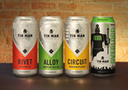 Tin Man Brewing Co. is offering four of its core beers in Rexam 16 oz. cans.