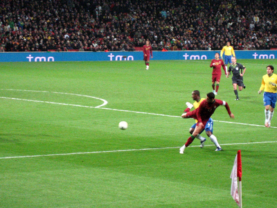 Portugal vs. Brazil in 2007 - Photo from Wikimedia Commons Public Domain.  (PRNewsFoto/TicketsPronto.com)