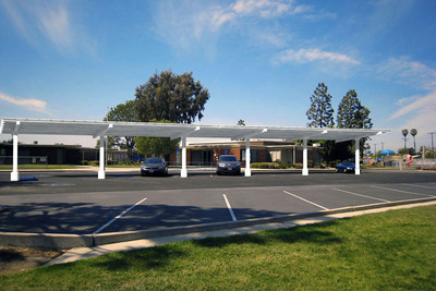 Solar installations at Fountain Valley School District are expected to reduce utility purchases by 70 percent. (PRNewsFoto/Chevron Energy Solutions) (PRNewsFoto/CHEVRON ENERGY SOLUTIONS)