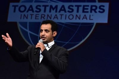 Mohammed Qahtani, Toastmasters 2015 World Champion of Public Speaking