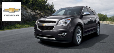 The versatile 2014 Chevy Equinox is available now at Broadway Automotive.  (PRNewsFoto/Broadway Automotive)