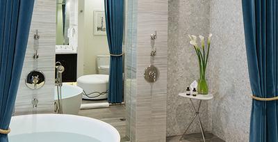 Bungalow One Bathroom (PRNewsFoto/Robb Report)