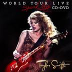 Taylor Swift to Release SPEAK NOW WORLD TOUR - LIVE, Concert CD/DVD & CD/Blu-Ray Set, on November 21st