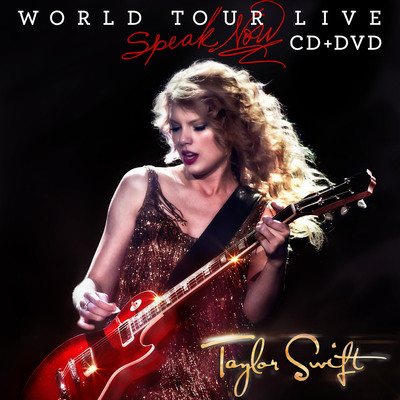 SPEAK NOW WORLD TOUR - LIVE Cover Art.  (PRNewsFoto/Big Machine Records)