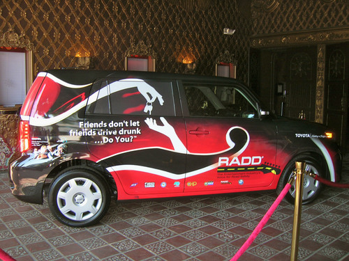 RADD, California Colleges Drive Home Designated Driver Message With Help From 2012 RADD Scion xB