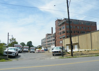 Progress is being made as U-Haul works toward offering a full line of moving and self-storage products to South Bluffs and downtown Memphis residents thanks to the acquisition and adaptive reuse of the 104-year-old Rawleigh Building.