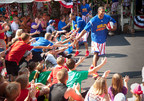 The Harlem Globetrotters tip off their first extended run ever with an opening ceremony June 6 at Silver Dollar City in Branson, Missouri.