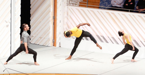 New World School of the Arts College dancers during the John Cage Festival in Miami, Florida. (PRNewsFoto/New ...