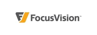 FocusVision logo (PRNewsFoto/FocusVision)