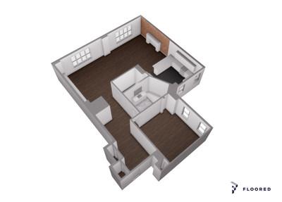 StreetEasy 3-D Floorplan
