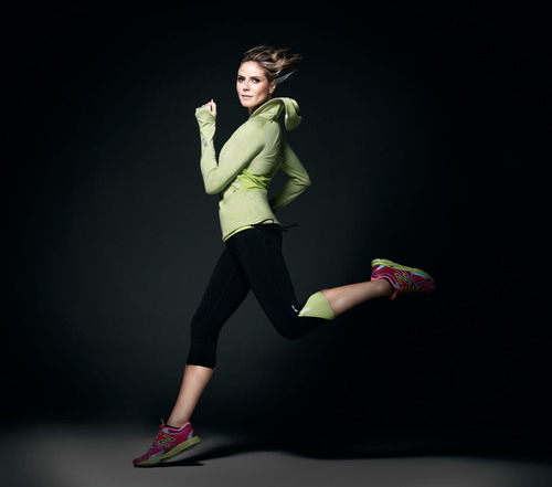 Heidi Klum for New Balance Collection Launches Exclusively at Select Lady Foot Locker Locations. ...