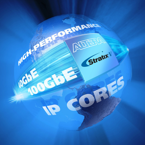 Altera Reduces Design Complexity in High-Performance 40GbE/100GbE Designs with Latest IP Core